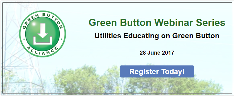 Webinar: Utilities Educating on Green Button, June 28th