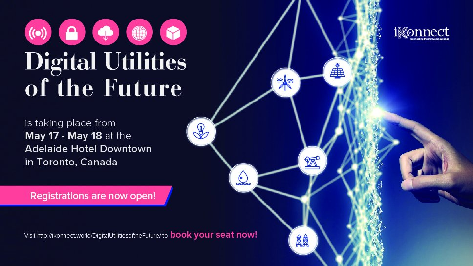 iKonnect Digital Utilities of the Future in May 2018.