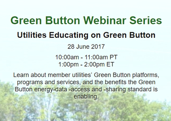Utilities Educating on Green Button